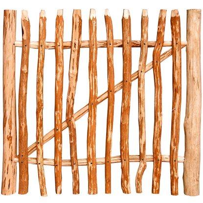 staketen gartentor kastanie natur 90 cm x 100 cm kaufen bei obi. Black Bedroom Furniture Sets. Home Design Ideas