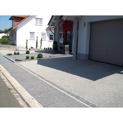 quadrat pflaster beton grau 20 cm x 20 cm x 8 cm kaufen bei obi. Black Bedroom Furniture Sets. Home Design Ideas