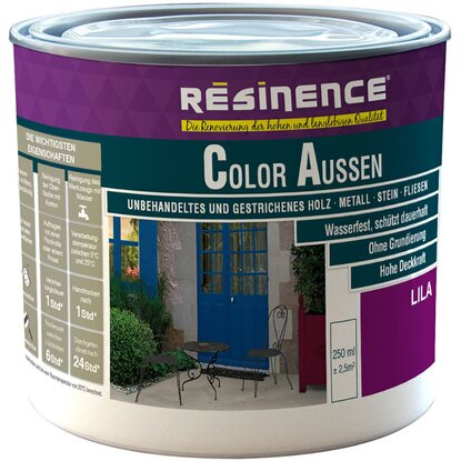 Resinence Color Aussen Lila Seidenmatt 250 ml