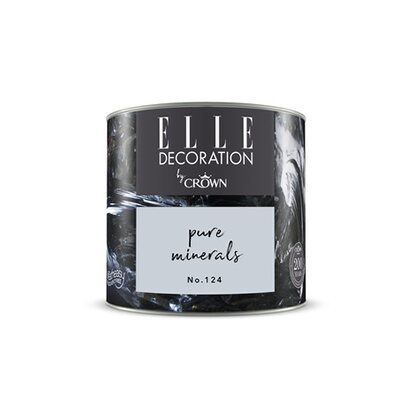 ELLE DECORATION by Crown Wandfarbe Pure Minerals No. 124 matt 125ml