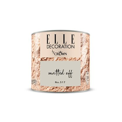 ELLE DECORATION by Crown Wandfarbe Matted Off No. 517 matt 125ml