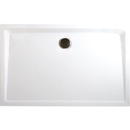 schulte duschwanne rechteck extraflach alpinwei 80 x 100 cm kaufen bei obi. Black Bedroom Furniture Sets. Home Design Ideas