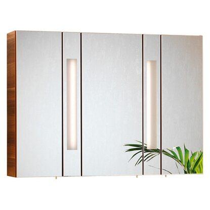 fackelmann spiegelschrank arte7 110 cm zwetschge eek a. Black Bedroom Furniture Sets. Home Design Ideas
