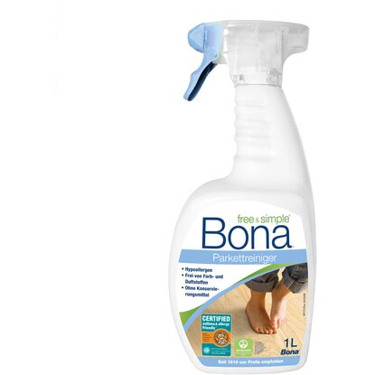 Bona Parkettreiniger Free & Simple 1 l