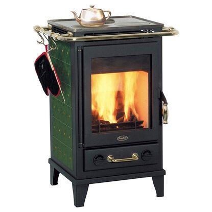 fireplace kaminofen florenz keramik gr n kaufen bei obi. Black Bedroom Furniture Sets. Home Design Ideas