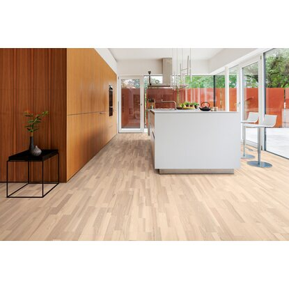 living by haro parkett esche wei versiegelt kaufen bei obi. Black Bedroom Furniture Sets. Home Design Ideas