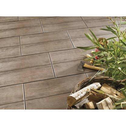 terrassenplatte beton holzdiele braun 60 cm x 40 cm. Black Bedroom Furniture Sets. Home Design Ideas