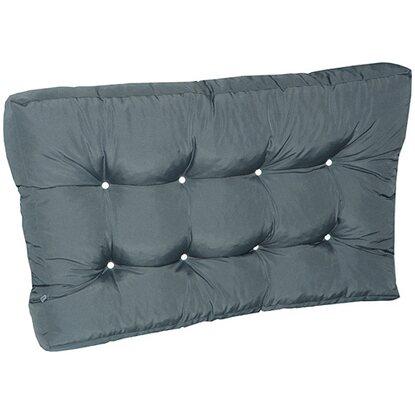 doppler paletten sitzkissen ca 120 cm x 80 cm x 15 cm anthrazit kaufen bei obi. Black Bedroom Furniture Sets. Home Design Ideas