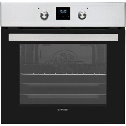 Sharp Backofen-Set autark mit Induktionskochfeld SET60DX19I6IX38F EEK: A