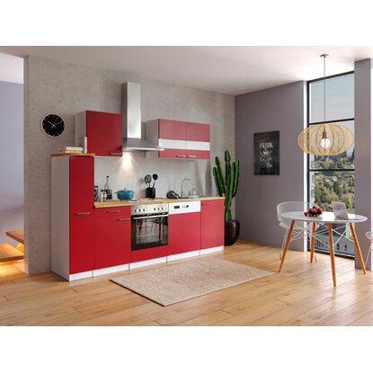 respekta k chenzeile kb250wr 250 cm rot wei kaufen bei obi. Black Bedroom Furniture Sets. Home Design Ideas