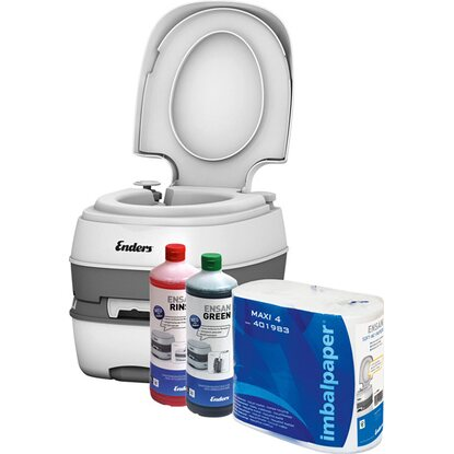 Enders®  Campingtoiletten Starter-Set WC Deluxe Green