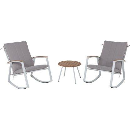 Leco schaukelstuhl set ambiente mit tisch kaufen bei obi for Leco schaukelstuhl mit polsterauflage