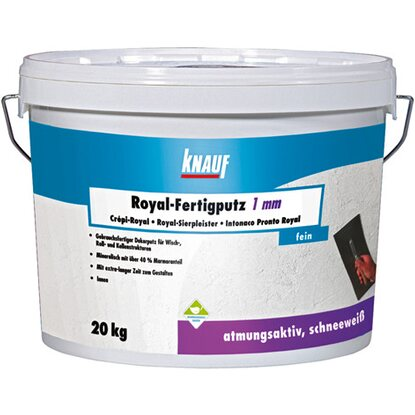 Knauf Royal Fertigputz 1 mm Körnung 20 kg