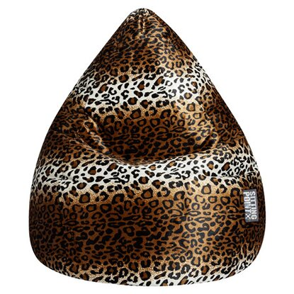 Sitting Point Sitzsack Beanbag XL 220 l Leopard