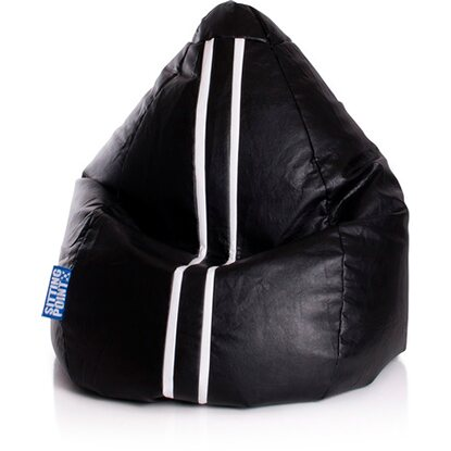 Sitting Point Sitzsack Beanbag Racing 220 l Schwarz