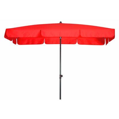 doppler sonnenschirm sunline waterproof rechteckig 185 x 120 cm rot kaufen bei obi. Black Bedroom Furniture Sets. Home Design Ideas