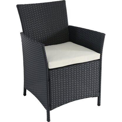kunststoff rattan geflecht sessel schwarz kaufen bei obi. Black Bedroom Furniture Sets. Home Design Ideas