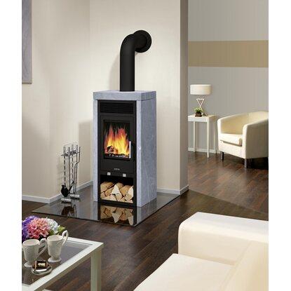 justus kaminofen sylt schwarz mit speckstein verkleidung 6 kw eek a kaufen bei obi. Black Bedroom Furniture Sets. Home Design Ideas