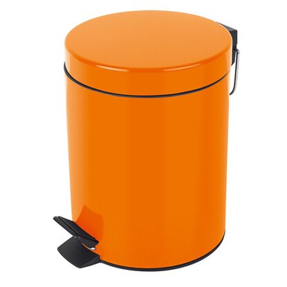 Spirella Treteimer Sydney Metall 5 l Orange