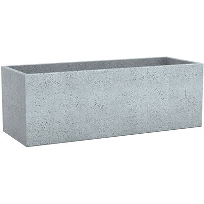 Scheurich Pflanzgefäß C-Cube Long 80 cm Stony Grey kaufen bei OBI
