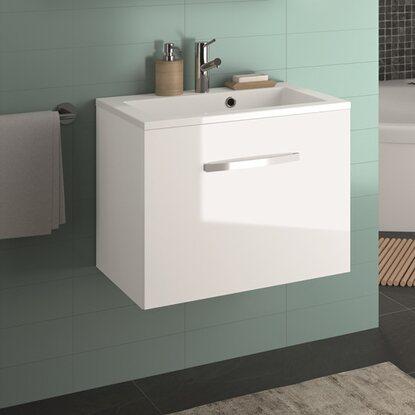 allibert waschplatz adept wei 60 cm kaufen bei obi. Black Bedroom Furniture Sets. Home Design Ideas