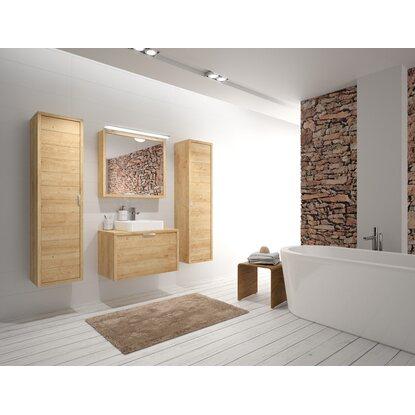 allibert badm bel set palermo eiche hell 80 cm 6 teilig eek a kaufen bei obi. Black Bedroom Furniture Sets. Home Design Ideas