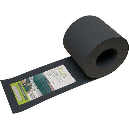 Kunststoff-Sichtschutz-Streifen Anthrazit Höhe 19 cm Länge ...