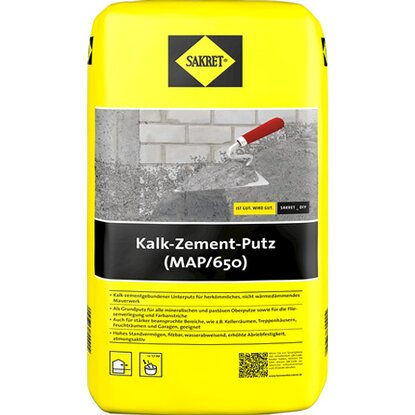 Sakret Kalk-Zement-Putz MAP 10 kg