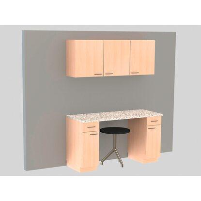 sp lenunterschrank klassik 60 buche mit arbeitsplatte 100 cm kaufen bei obi. Black Bedroom Furniture Sets. Home Design Ideas