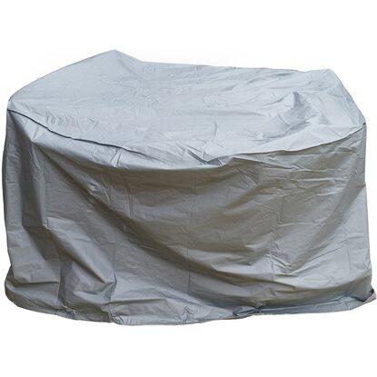 gartenfreude schutzh lle deluxe f r gartentisch rund 160 x 90 cm grau kaufen bei obi. Black Bedroom Furniture Sets. Home Design Ideas