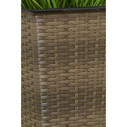 gartenfreude pflanzk bel polyrattan 32 cm x 32 cm cappuccino kaufen bei obi. Black Bedroom Furniture Sets. Home Design Ideas