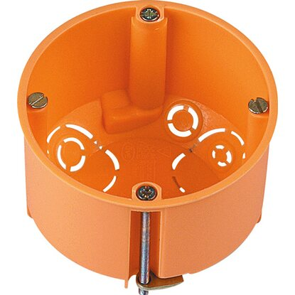 Hohlwanddose Ø 68 mm x 61 mm Orange IP30