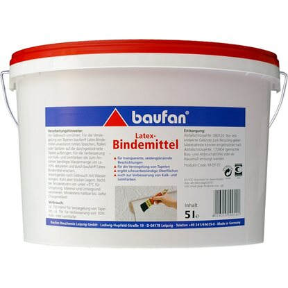 Baufan Latex-Bindemittel 5 l