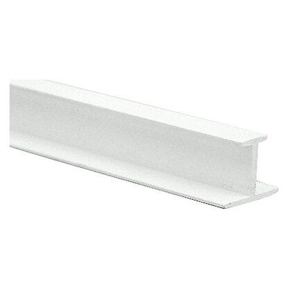 gardinia t schiene kunststoff wei 250 cm kaufen bei obi. Black Bedroom Furniture Sets. Home Design Ideas