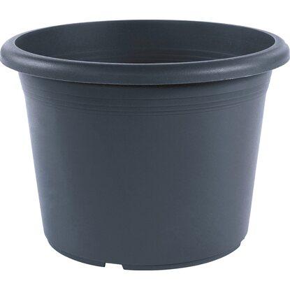 pflanztopf zylinder mit bew sserungssystem 35 cm. Black Bedroom Furniture Sets. Home Design Ideas