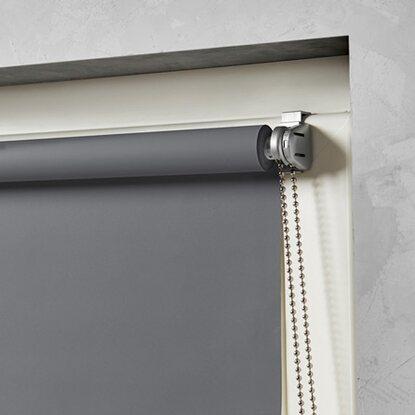 cocoon mini rollo verdunklung grau 90 cm x 150 cm kaufen bei obi. Black Bedroom Furniture Sets. Home Design Ideas