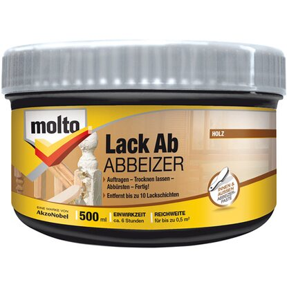 Molto Lack Ab Abbeizer-Paste 500 ml