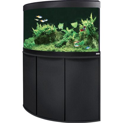 Fluval Aquarium-Kombination Vicenza LED 190 l Schwarz