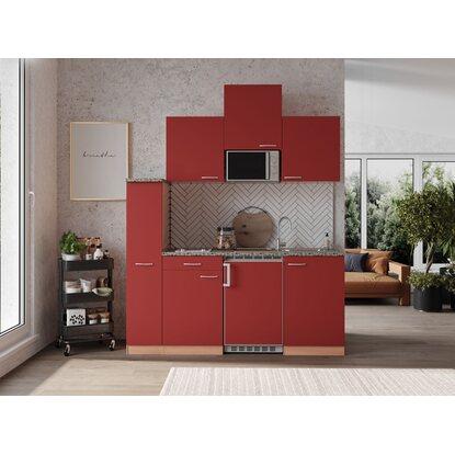 respekta economy k chenzeile kb180brmic 180 cm rot buche kaufen bei obi. Black Bedroom Furniture Sets. Home Design Ideas