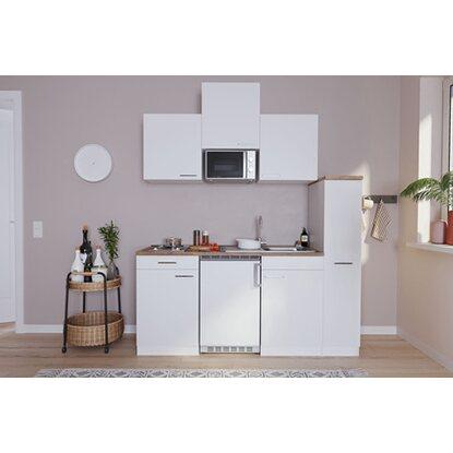 respekta economy k chenzeile kb180wwmi 180 cm wei kaufen bei obi. Black Bedroom Furniture Sets. Home Design Ideas
