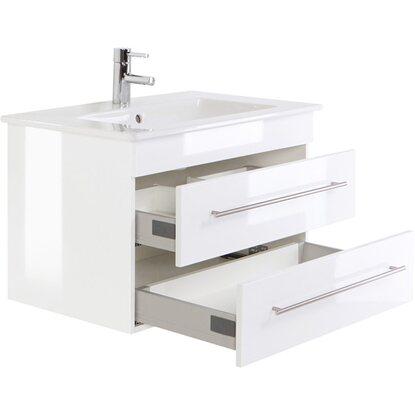 waschplatz 80 cm venticello wei hochglanz kaufen bei obi. Black Bedroom Furniture Sets. Home Design Ideas