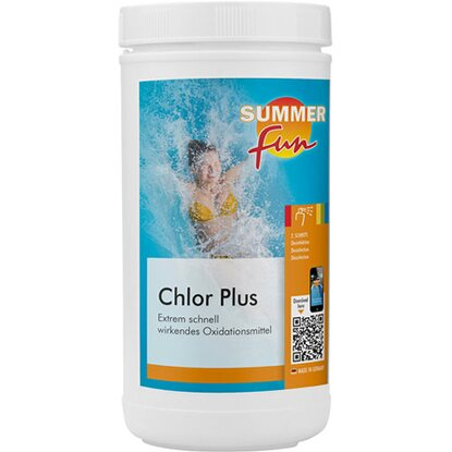 Summer Fun Desinfektion Chlor Plus Aktivsauerstoff 1 kg