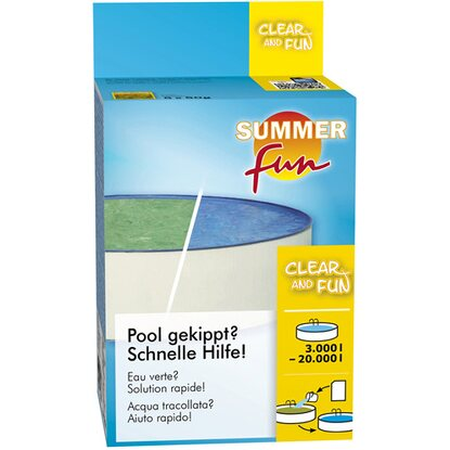 Summer Fun Wasserpflege-Set Clear and Fun für Pools von 3.000 l - 10.000 l