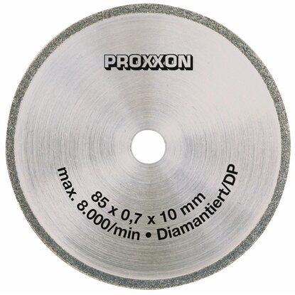 proxxon kreiss geblatt diamantiert 85 mm f r feinschnitt tischkreiss ge fet kaufen bei obi. Black Bedroom Furniture Sets. Home Design Ideas