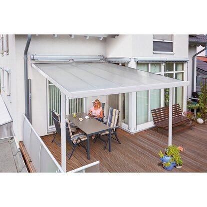 terrassen berdachung bausatz bxt 306 cm x 406 cm wei kaufen bei obi. Black Bedroom Furniture Sets. Home Design Ideas