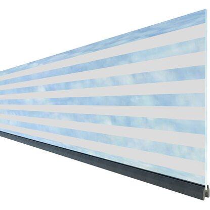 Zaun Zubehor Dekorprofil Set System Glas Delta Hoch 30 Cm Kaufen Bei Obi