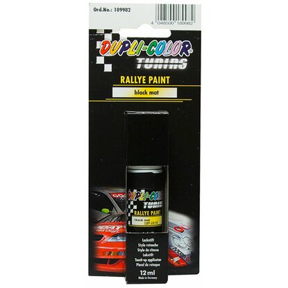 Dupli-Color Rallye Paint Black matt Lackstift 12 ml