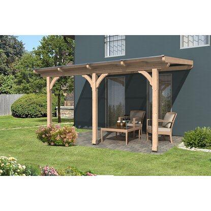 skan holz terrassen berdachung rimini 434 cm x 300 cm kaufen bei obi. Black Bedroom Furniture Sets. Home Design Ideas