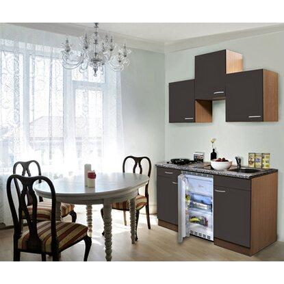 respekta k chenzeile 150 cm grau buche kaufen bei obi. Black Bedroom Furniture Sets. Home Design Ideas