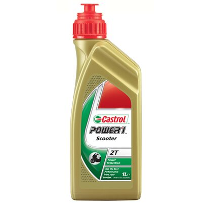 Castrol Motoröl Power 1 Scooter 2T 1 l